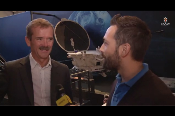 WATCH: Astronaut Chris Hadfield on dreams, science and inspiration in space