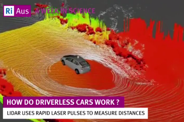 WATCH: How do driverless cars work?